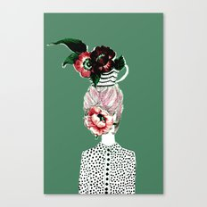 Tea Girl Canvas Print