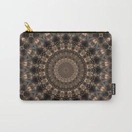 Mandala grey elegance Carry-All Pouch
