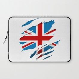 British Flag Pride Laptop Sleeve