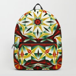 Winter cheer, abstract pattern design Backpack