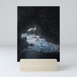 Hawaiian Sea Caves Mini Art Print