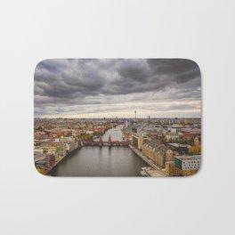 Berlin Oberbaumbrücke Bath Mat
