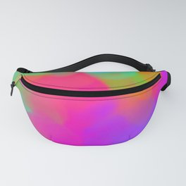 Spring Brights Digital Paint Mash Fanny Pack