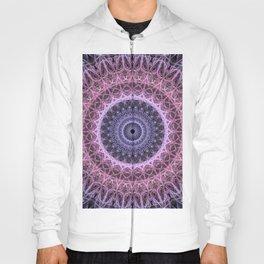 Mandala in pink and violet tones Hoody