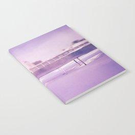 Purple winter city Notebook