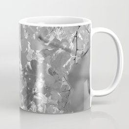 Leafs (Black and White) Coffee Mug