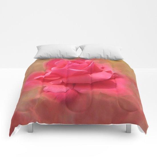 Enchanting Elegant Rose Comforters