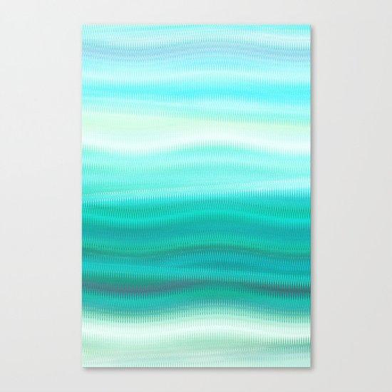 Green Mirage Canvas Print