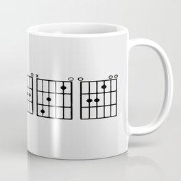Peace. Music. Coffee Mug
