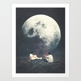 My Moon My Man My Love Art Print