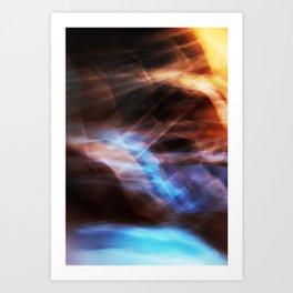 Passing Storm Art Print