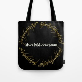 Made In MiddleEarth Tote Bag