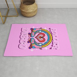 Roller Disco 70s Party Rug