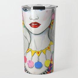 Colourful Fashion Travel Mug