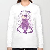 chibi Long Sleeve T-shirts featuring Chibi Barasuishou by Yue Graphic Design