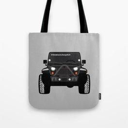 [JEEP] BLACK +GREY BG Tote Bag