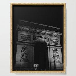 Noir Paris V Serving Tray