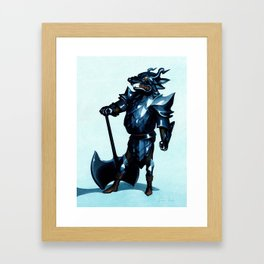 Emil the Eviscerator Framed Art Print