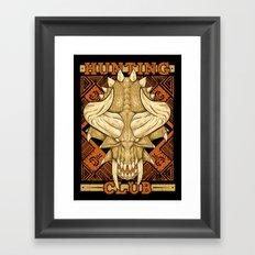 Hunting Club: Diablos Framed Art Print