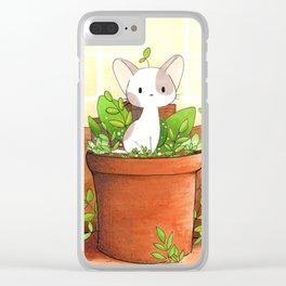 Little cat Clear iPhone Case