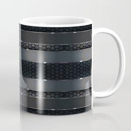 Carbon Panel Pattern Coffee Mug