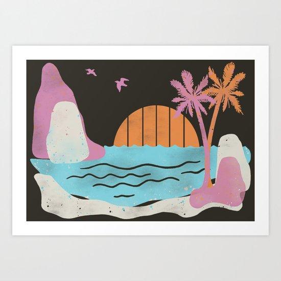 The Trops Art Print