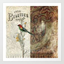 Vocal Beauties Art Print