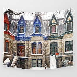 The Enchanting Winter Wall Tapestry