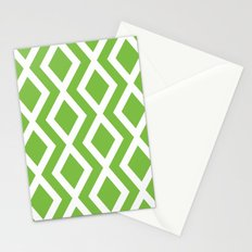 Green Diamond Stationery Cards