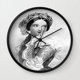 Princess of France Wall Clock