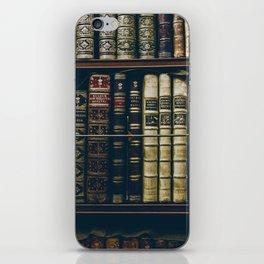 The Bookshelf (Color) iPhone Skin