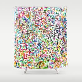 The 2nd Simple Thing Shower Curtain