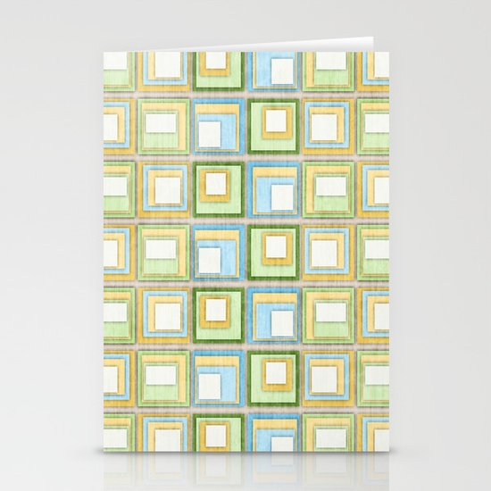 English Country Tiles. Stationery Cards