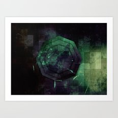 Random Octo Art Print