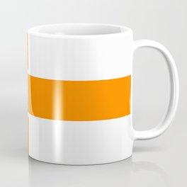 Team Color 6...orange,white Coffee Mug