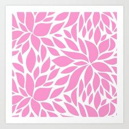 Bloom - Taffy Art Print