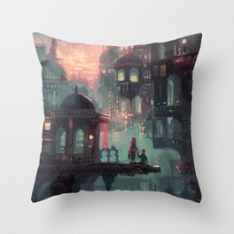 Can We Stay in My World for Just One More Minute? Throw Pillow