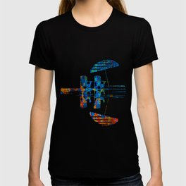 Burning Textile Drops T-shirt