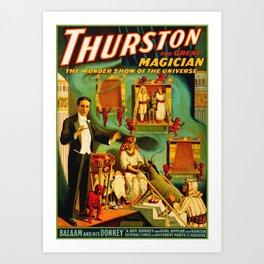 Thurston The Great Magician - Egypt Art Print