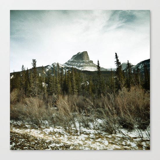 Pocahontas mountain Canvas Print