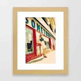 Honest Ed Framed Art Print