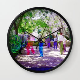 It's suggested to appreciate time as a collection. Wall Clock