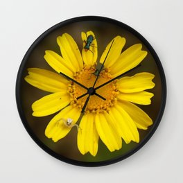 Wild nature Wall Clock
