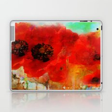 Champ de coquelicots Laptop & iPad Skin