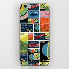 Postcards from a Cosmic Voyage iPhone Skin