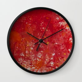 Blood is the New Black Wall Clock