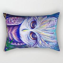 Owl Crystals Rectangular Pillow