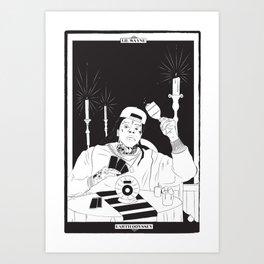 Earth Odyssey Tarot Card Art Print