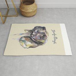 Lovely Beagle - by Fanitsa Petrou. Rug