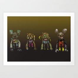 Cartoomans Art Print